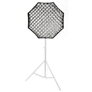 "Image 4 - Godox Reflector portátil para Flash Speedlight, rejilla de nido de abeja, foto de paraguas, 120cm, 47"""