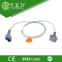 Compatible Reusable Nellcor Oximax DS100A Pediatric Soft Tip Spo2 Sensor with 1m Cable Length