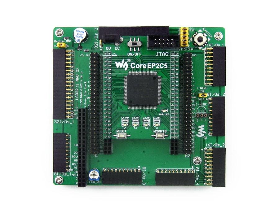 Modules Altera Cyclone Board EP2C5 EP2C5T144C8N ALTERA Cyclone II FPGA Development Board = OpenEP2C5-C Standard modules altera cycone board ep2c8q208c8n altera cyclone ii fpga development board 3 2inch lcd 12 modules openep2c8 c package a