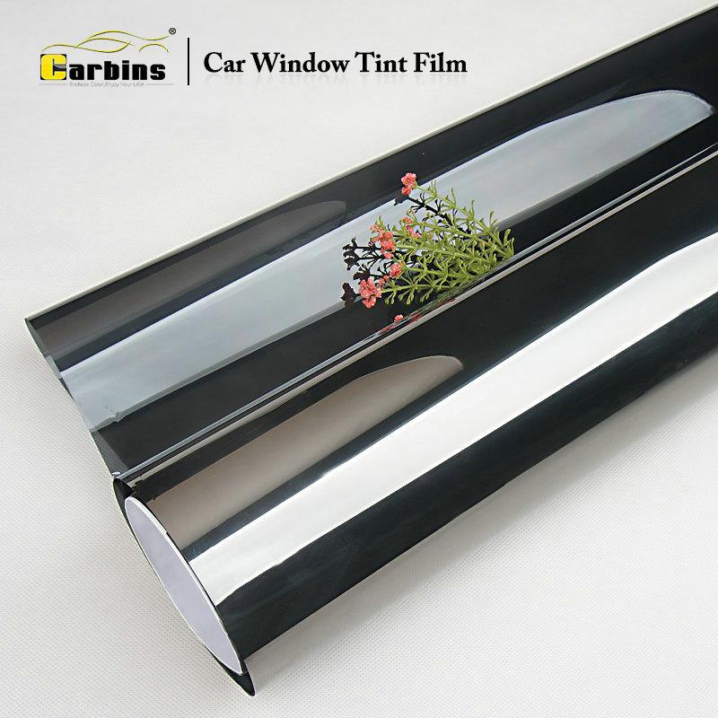 Carbins full car 85% VLT film teinte avant + 20/35/50/65% gris à noir vitre latérale pare-brise arrière teinte feuille de protection solaire