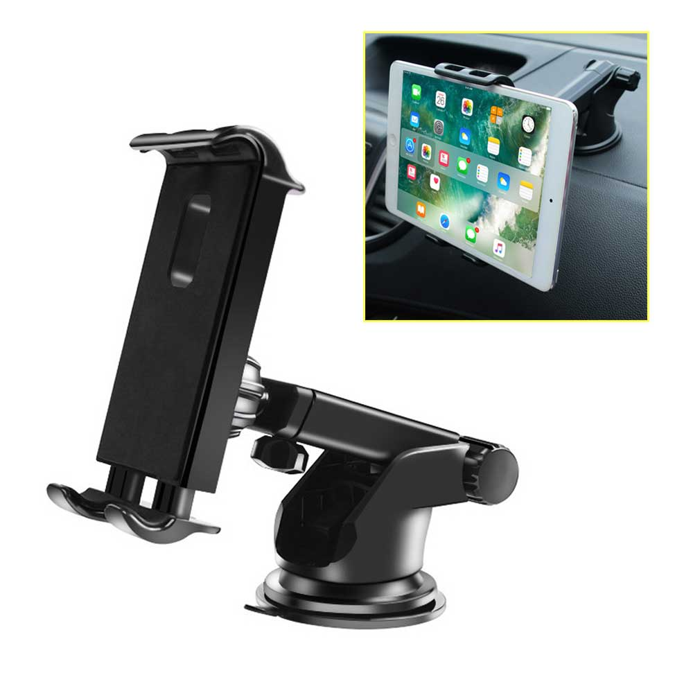 """360° Car Windshield Mount Holder For iPhone 7-11/"""" iPad Mini//2//3//4//Air Tablet GPS"""