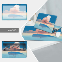 Laptop Sticker Mouse Pad Sets Skin For Dell 13D 13 7353 7000 11B 11 3152 3000