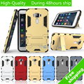 For Asus Zenfone 3 Lite ZE520KL 5.2'' Heavy Duty Hybrid Armor PC + TPU Case Cover With Holder