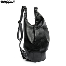 2017 RDGGUH Brand Waterproof Laptop Backpack Men Multifunctional Leather Backpacks For Teenager Men Casual Daypacks Mochila Male