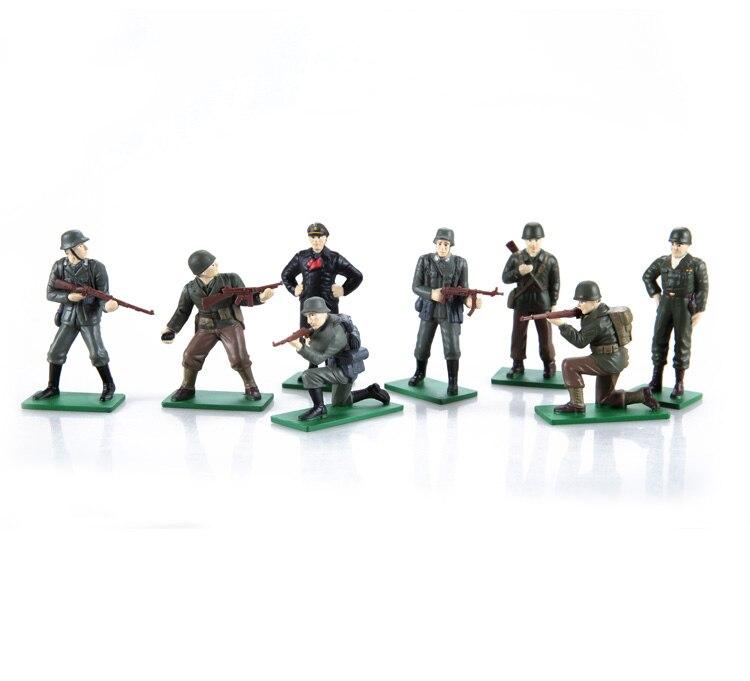 1/32 (маршал Роммель, Генерал Паттон) из печати Второй мировой войны Металл солдат серии