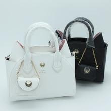 2017 Autumn and winter black/white sailor moon luna/artemis hand bag samantha vega handbag cat ear shoulder bag messenger bag