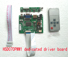 7inch HSD070PWW1 Dedicated/Special Driver board  1280*800 Reversal priority