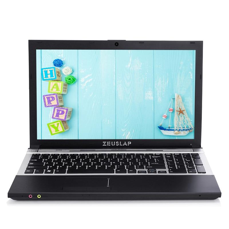15.6inch Intel Dual Core I7 4GB RAM 128GB SSD 1920x1080P WIFI Bluetooth DVD Rom Windows 10 Cheap Notebook PC Computer Laptop