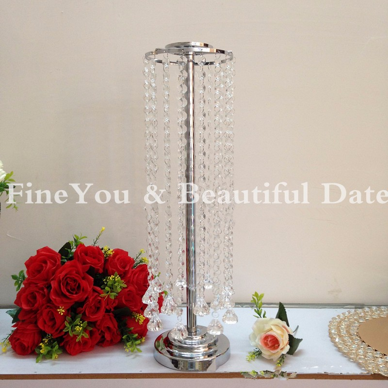 Only chandelier pcs lot crystal table top