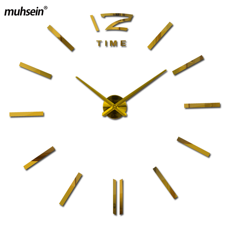 2020muhsein Wall Watch Home Decor Decoration Living Room Watches Fashion Brief Quartz Clock  Orologio Da Parete Large Wallclock