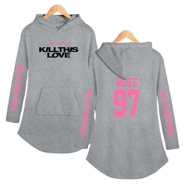 BLACKPINK KILLTHIS LOVE HOODED DRESS (20 VARIAN)