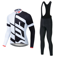 Specializeding Cycling jersey Set 2018 long sleeve bib pants ropa ciclismo bicycle clothing MTB bike jersey Uniform Men clothes