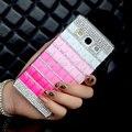 Pen & mllse cajas del teléfono de lujo hecho a mano bling del rhinestone del diamante trasero duro case para samsung galaxy a3 a5 a7 2017 2016 201