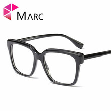 MARC 2019 Women Glasses Frame Men Eyeglasses Vintage Square Clear fashion Trend Lens Optical Spectacle NEW 95152