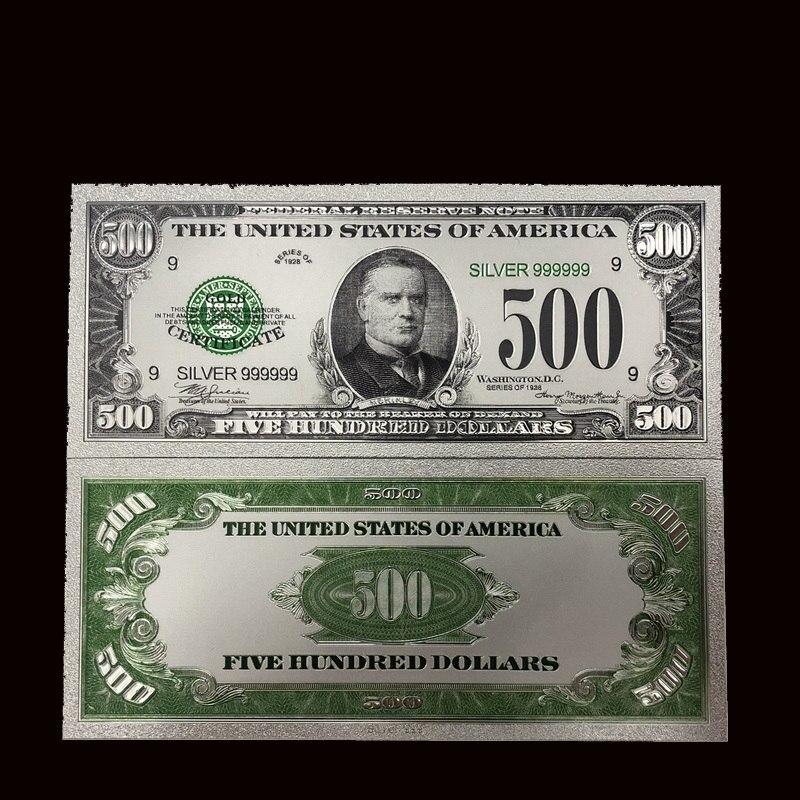 500 Dollars Bills 24k Gold Foil