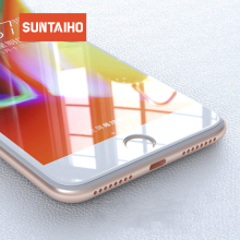 Suntaiho Premium Tempered Glass for iPhone 6s plus XR XS glass film for iphone XS MAX 7 plus 9H Anti-Explosion Screen Protector