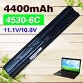 4400 мАч аккумулятор для ноутбука HP ProBook 4530 s 4535 s 633733-1A1 633733-321 633805-001 650938-001 HSTNN-DB2R HSTNN-I02C HSTNN-I97C-3