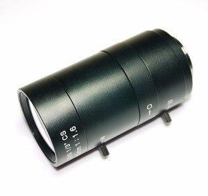 Image 2 - 6 60mm Objektiv MegaPixel 68 8 Grad MTV CS Mount Infrarot Nachtsicht Manuelle Zoom Objektiv Für CCTV Sicherheit Kamera