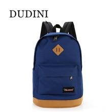 DUDINI New Top Brand Cloth School Bags For Teenagers Pop Quiz Bagpack Men Mochilas Spanish Oxford Women's Backpacks