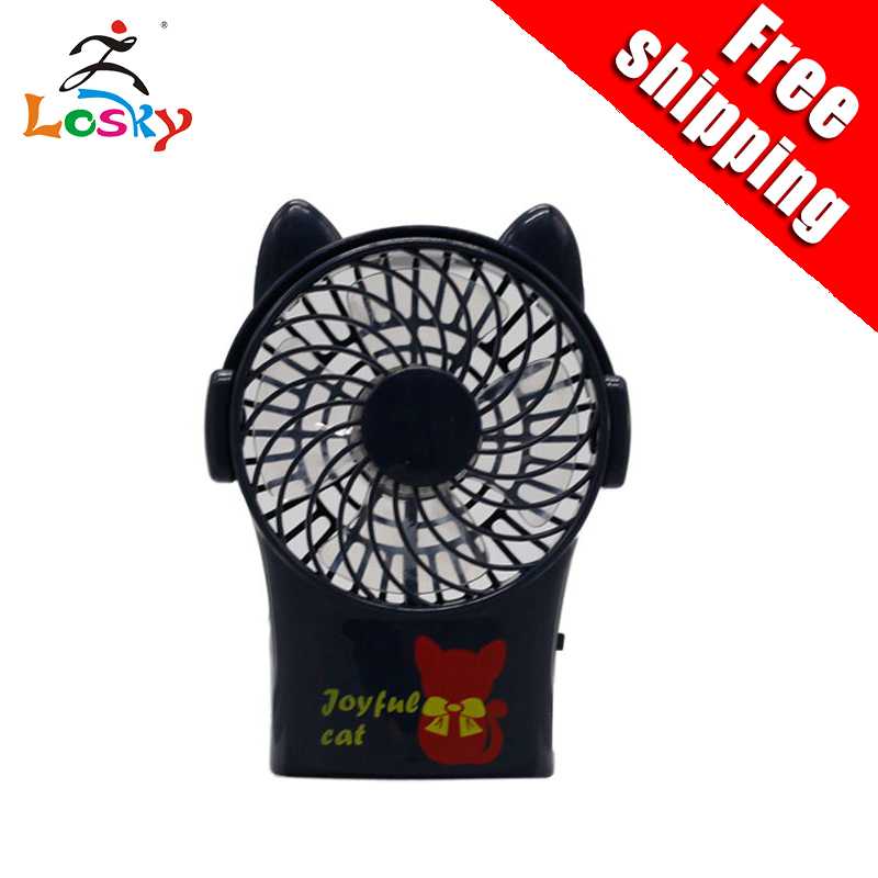 Mini Cat Portable Handheld new fan portable USB Table Desk Personal Fan with Rechargeable For Travel Outdoor Pool Car Des