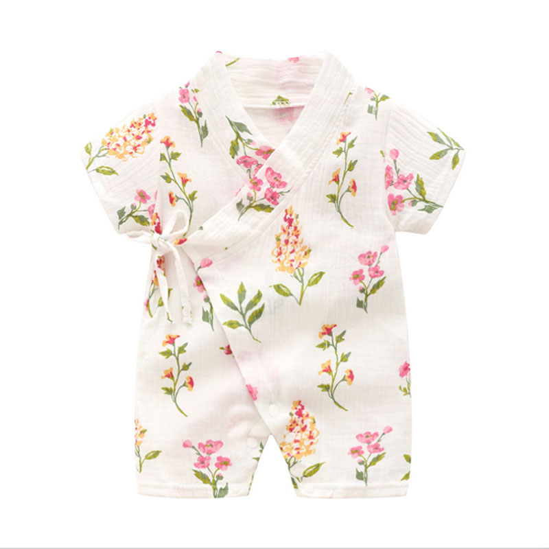 cbcb4d9f6743c Summer Baby Girl Clothes Light and Breathable Overalls for Children ...