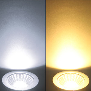 Image 5 - COB led spotlight 9W 12W 15W led lights E27 E14 GU10 GU5.3 220V MR16 12V Cob led bulb Warm White Cold White lampada led lamp