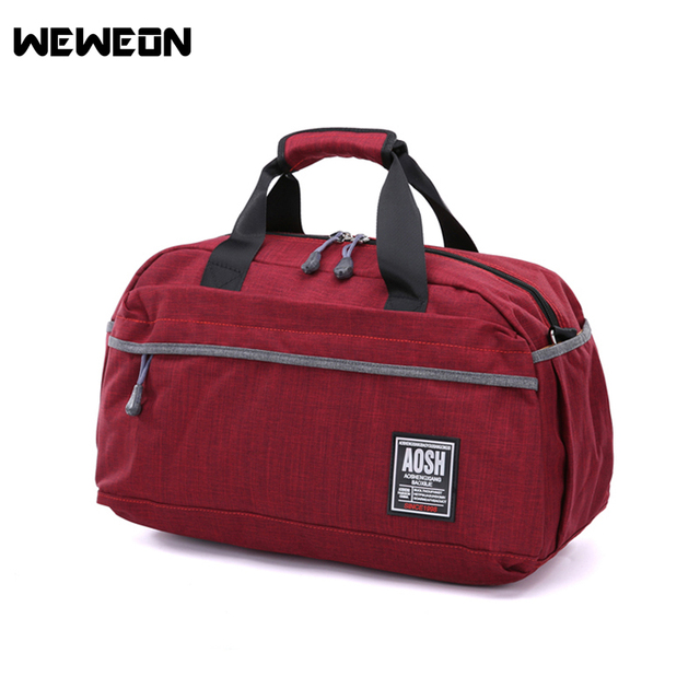 New Short Distance Travel Handbag Luggage Bag Male Large Capacity Sports Fitness Gym