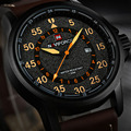 NAVIFORCE Mens Relojes de Primeras Marcas de Lujo de Cuarzo Reloj de Los Hombres relogio masculino Impermeable Relojes Deportivos Militar Hombres de Cuero 2016