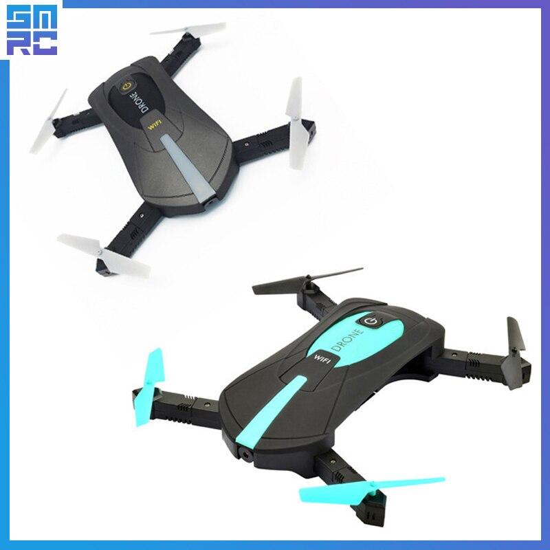 JY018 ELFIE WiFi FPV Quadcopter Mini Pieghevole Selfie Drone RC Droni con 2MP Macchina Fotografica HD FPV Professionale H37 720 P RC Elicottero