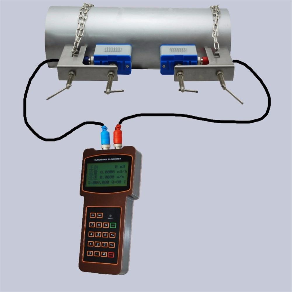 TUF-2000H Factory price handheld clamp on ultrasonic flow meter цена
