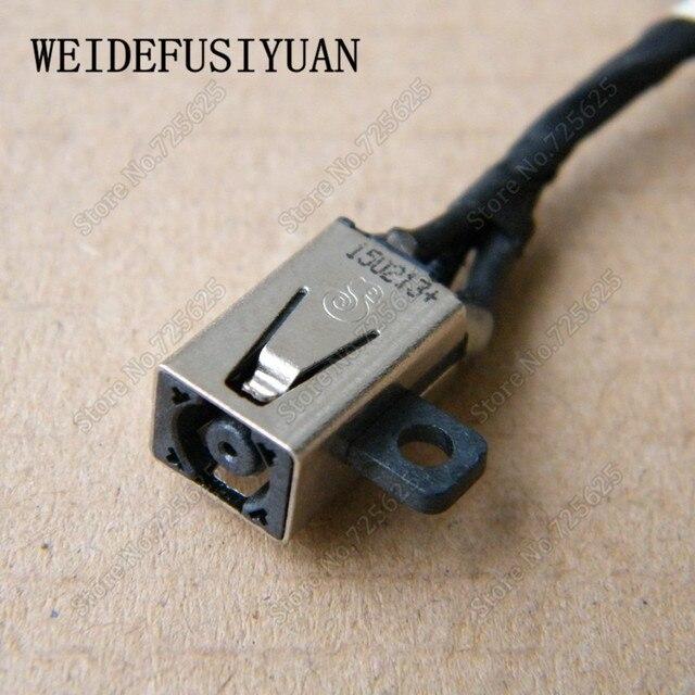 10 sztuk gniazdo zasilania DC podłączyć Port ładowania gniazdo złącza drutu kabel uprząż dla DELL CHROMEBOOK 13 7310 13- 7310