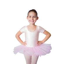 e9fcd1d6f Adult Girls Kids Ballet Dance Tutu Dress Shiny Lycra Short Sleeve Tulle  Skirts Recital Performance Costume