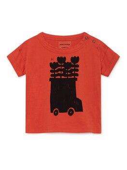 2019 BOBO CHOSES BABY GIRL CLOTHES KIDS T SHIRTS THANKSGIVING CHERRY TOP WOLF & RITA GIRLS RAGLAN SHORTS 1