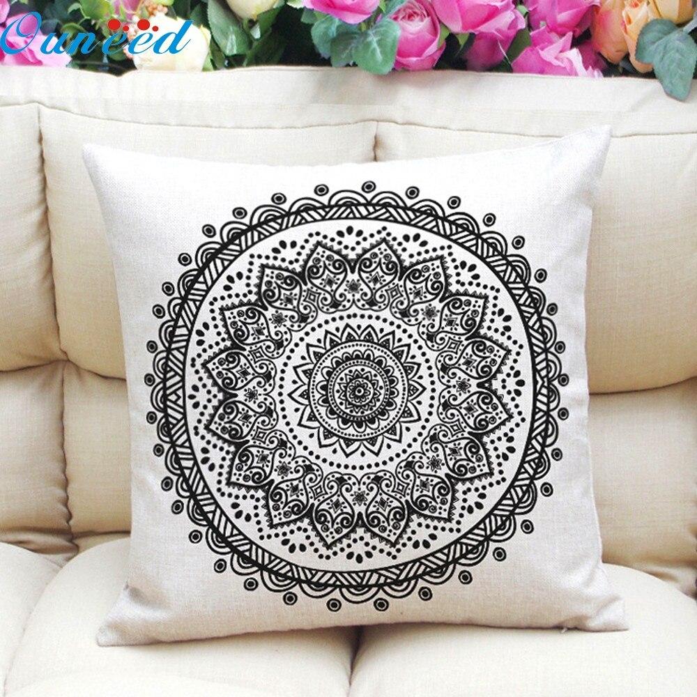My House Hot 1PC high quality Pattern Pillow Case Sofa Waist Throw Cushion Cover Home Decor 45cm*45cm drop shipping Aug24Hot