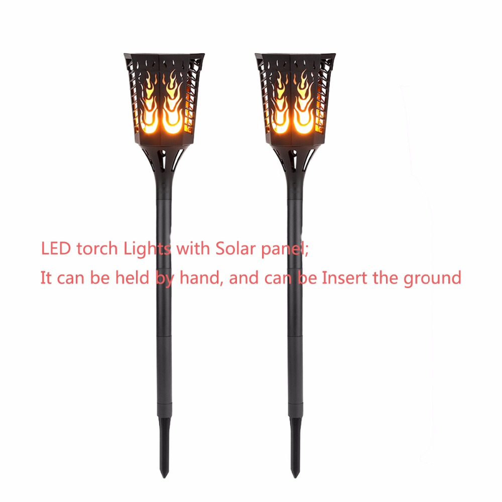 New style 2 pack Solar garden LED lamp waterproof IP65 Torches Dancing Flame Lighting for  Lawn Garden Yard Driveway автоинструменты new design autocom cdp 2014 2 3in1 led ds150