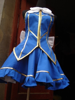 Fairy Tail Lucy Heartphilia Cosplay Costume Lucy Fancy Dress Outfit Carvival/Halloween Party Costumes for Women Anime Costumes 1