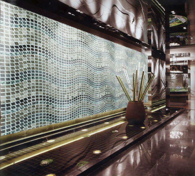 Grey Wooden Marble Stone Metal Gl Mosaic Tiles Backsplash Kitchen Wall Tile Sticker Bathroom Floor
