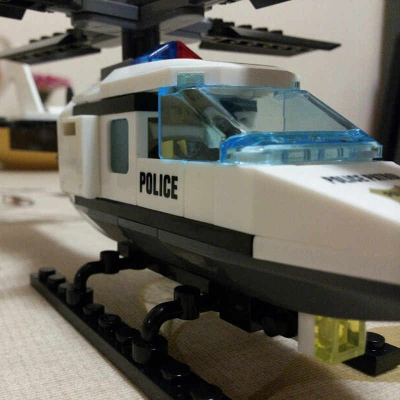 102 шт. вертолет DIY здания Конструкторы комплект набор кирпичей бренд игрушечные лошадки Совместимость Legoings подарки для детей