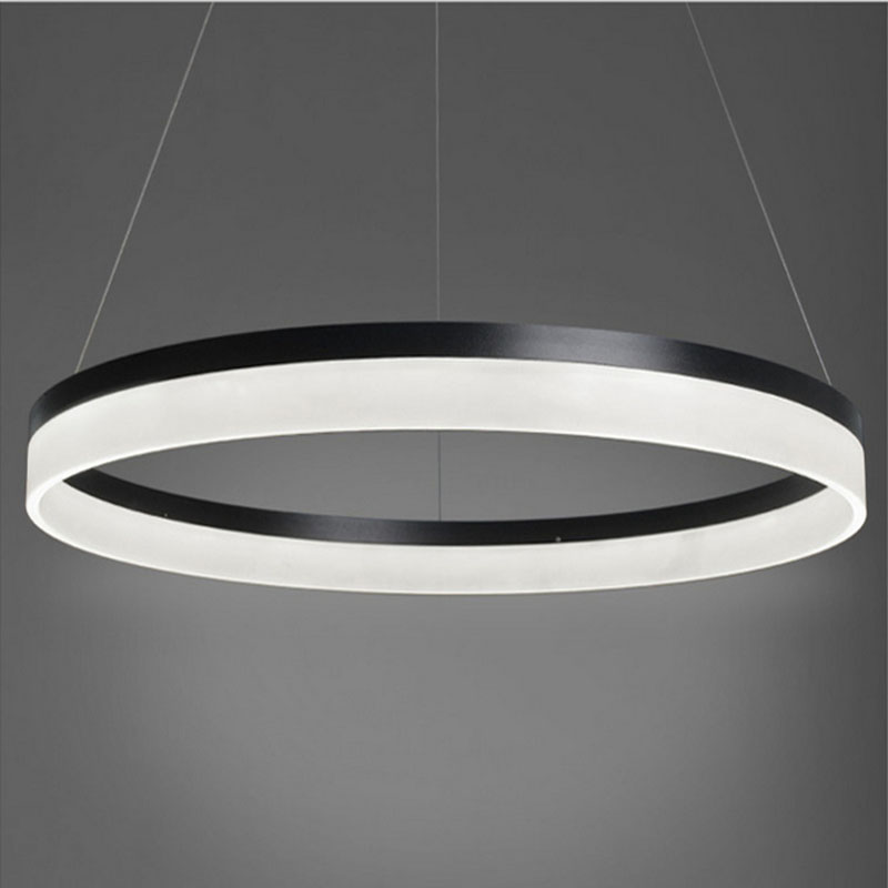 NEW Modern LED Ring Light Arcylic Circle LED Pendant