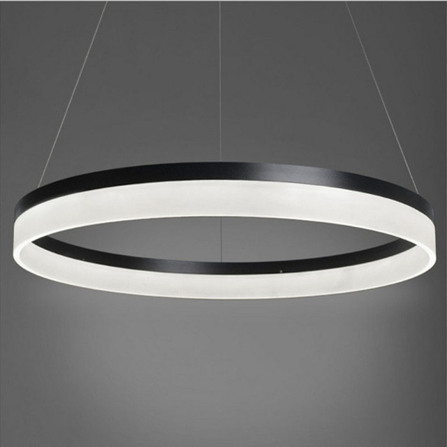 New Modern Led Ring Light Arcylic Circle Led Pendant