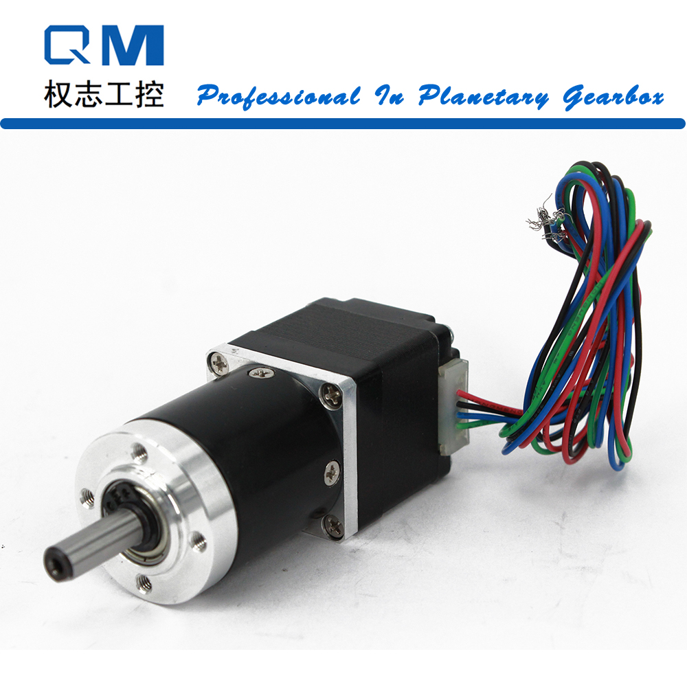 Geared Stepper Motor 4-Lead Nema 11 Stepper Motor 30mm Planetary Gearbox Gear Ratio 9:1 CNC Robot 3D Printer Pump