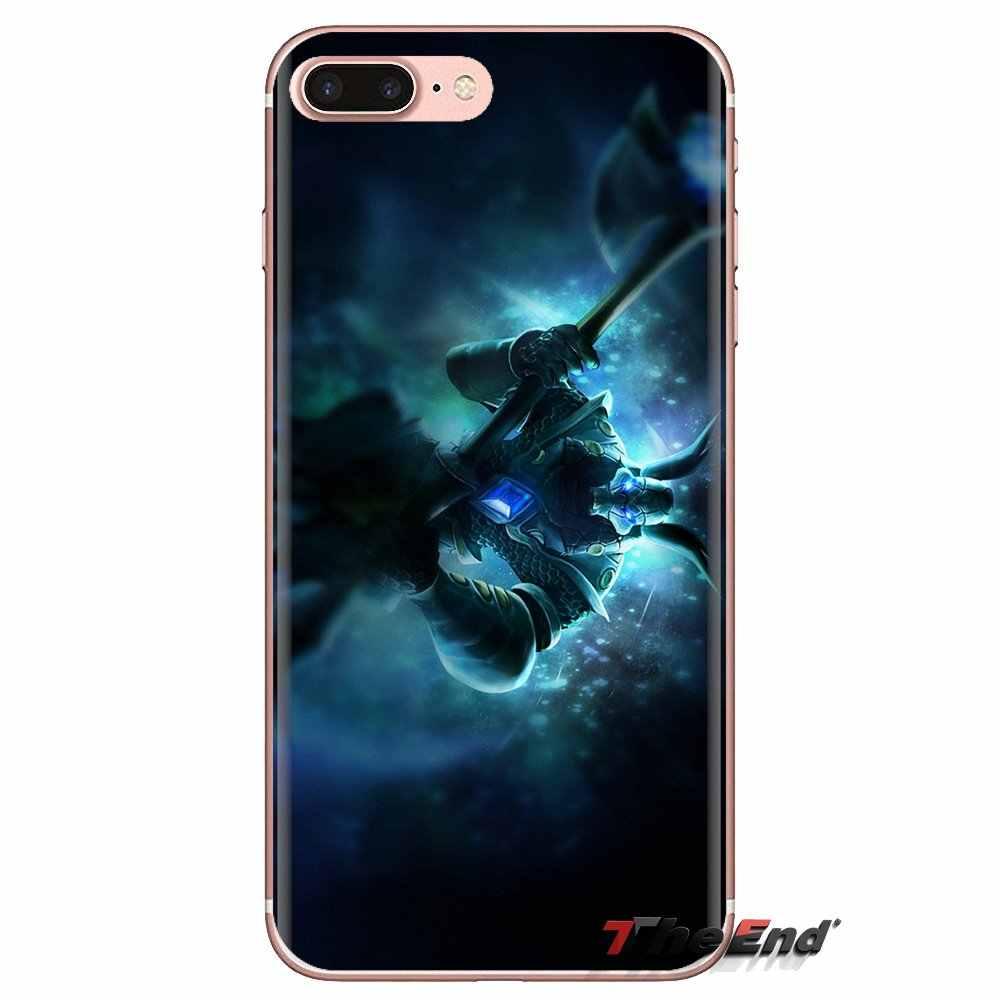 Dla Huawei Mate Honor 4C 5C 5X6X7 7A 7C 8 9 10 8C 8X20 lite Pro Jinx Nasus LOL bohaterowie wzór przezroczysty miękki pokrowce na