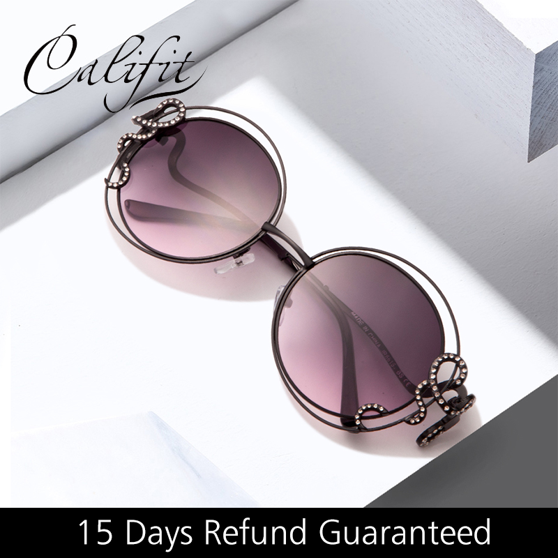 Honest Fashion Women Sunglasses Round Men Luxury Brand Design Eye Sun Glasses 2018 Round Oversize Ladies Festival Goggles Girls Blue Women's Sunglasses Apparel Accessories
