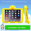 JIaLonG Cute 3D Cartoon Kids EVA Soft Thick Foam Cover Stand Holder Shockproof Case For Ipad mini 1/2/3 Silicone Tablets Case