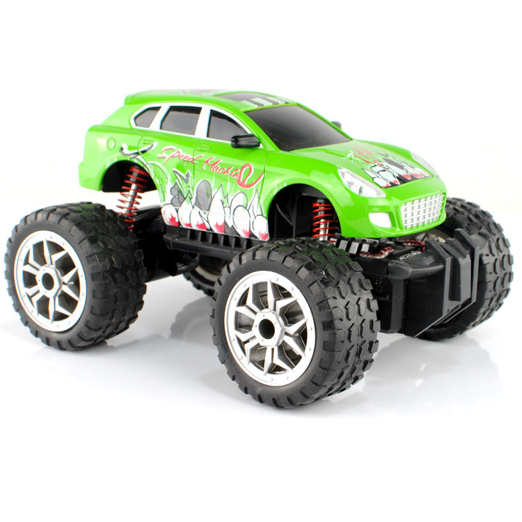 monster remote control car hot wheel colorful big suv racer rc car kids toys off road