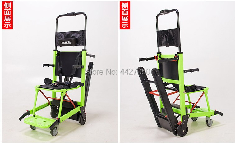2018 New fashion cool lightweight Climbing font b wheelchair b font aluminum alloy electric stair climber