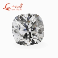 gray color cushion shape moissanites loose stone by qianxianghui