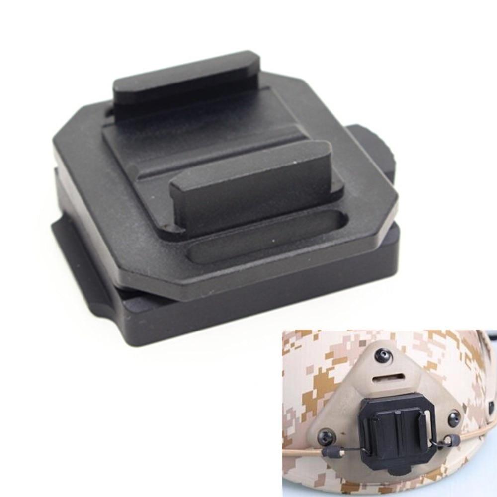 Helmet Nvg Mount Base Adapter For Xiaomi Yi 4K Sjcam Rail Fast Fixed Mount For Gopro