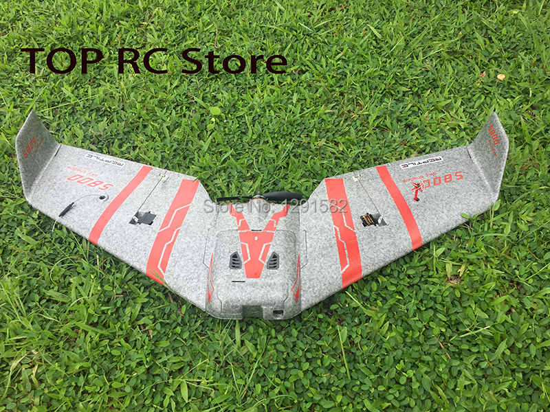 Reptile S800 V2 SKY SHADOW 820mm Wingspan Gray FPV EPP Flying Wing Racer PNP With FPV