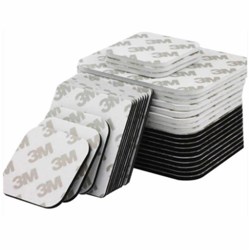 ใหม่ล่าสุด 10 ชิ้น/เซ็ต 3M เทปโฟม Pad ยึดสี่เหลี่ยมผืนผ้ากาวซ่อมเทปสีดำสีขาวสีคุณภาพ